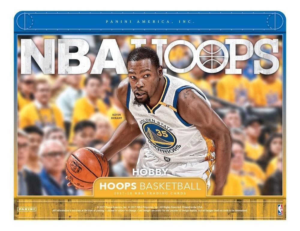 2017/18 Panini Hoops Basketball Hobby Box October 25th