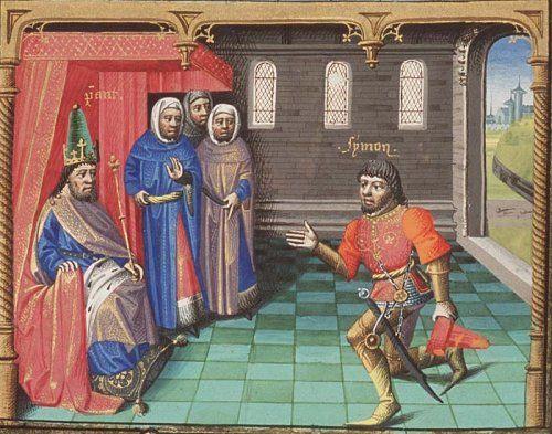 Image result for medieval manuscript perjury