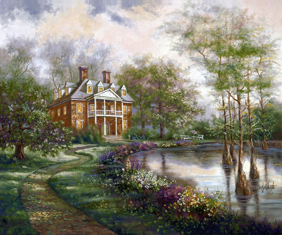 Plantation Home ~ Carl Valente