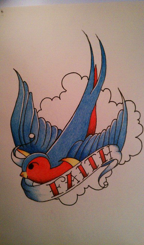 Sailor Jerry Swallow Design By Sl0ane On Deviantart Sailor Jerry Tattoos Sailor Jerry Swallow Swallow Bird Tattoos