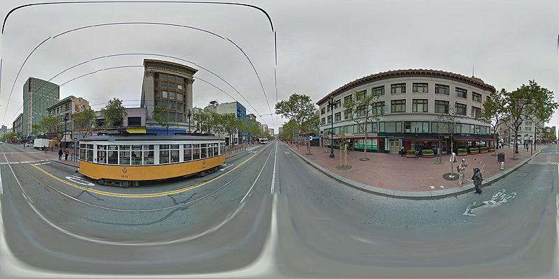 Raw Equirectangular Panorama | Github notlion/streetview