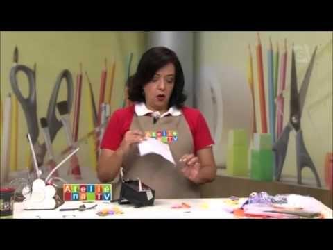 Coruja para lápis, móbile ou decoração - YouTube