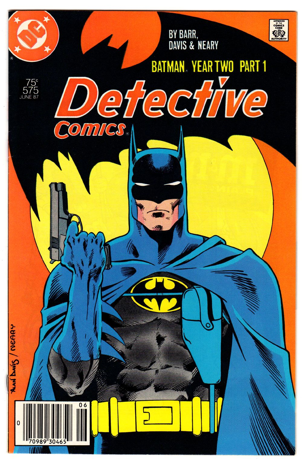 Detective comics 575 90 white pages copper age batman todd detective comics detective comics batman year two part in a story that takes place in the batmans early years the dark knight confronts the reaper fandeluxe Images