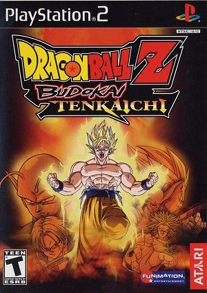 Dragon Ball Z Budokai Tenkaichi Sony Playstation 2 Game Dragon Ball Z Dragon Ball Ps2 Games
