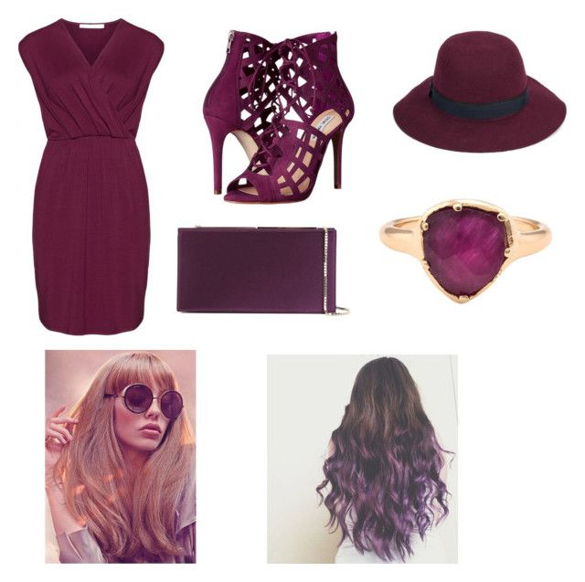 """""""Mahogany"""" by velvetgirl10 on Polyvore featuring Studio, Steve Madden, Jimmy Choo, Christys' and Kathryn Bentley"""