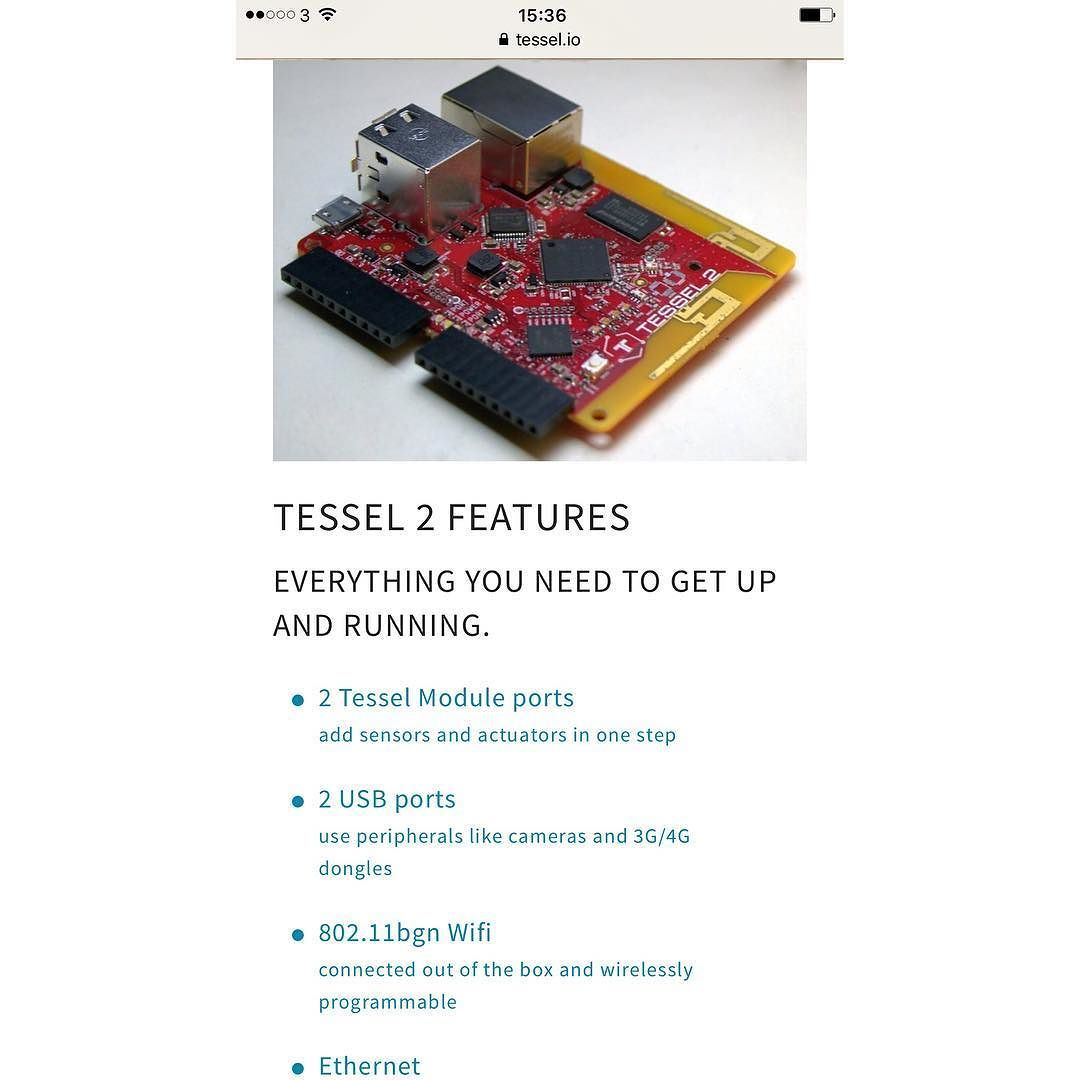 Something We Loved From Instagram Build Your Own Iot Device With When Finished Building The Circuit Connect Arduino To Pc Via Tessel And