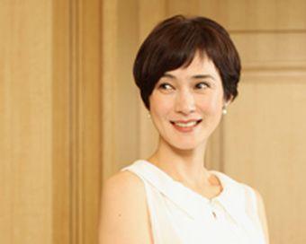C 安田成美 髪型 ショートヘアー パーマ ショート パーマ