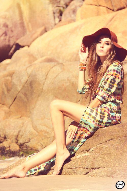 FashionCoolture - 19.02.2013 look du jour  Empress Brasil hat summer bikini outfit sheinside (6)