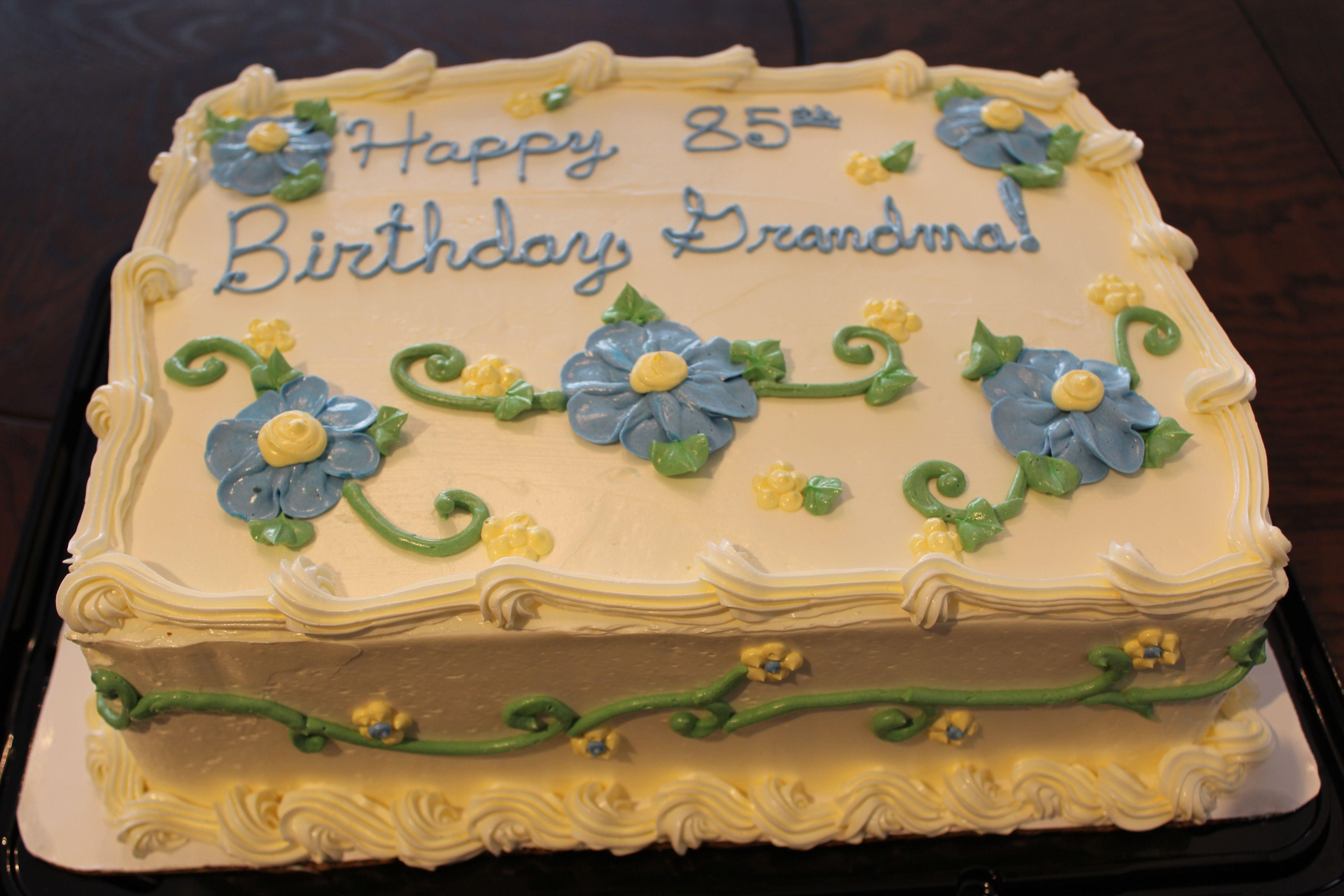 Traditional Birthday Cake Birthday Cakes Pinterest Birthday
