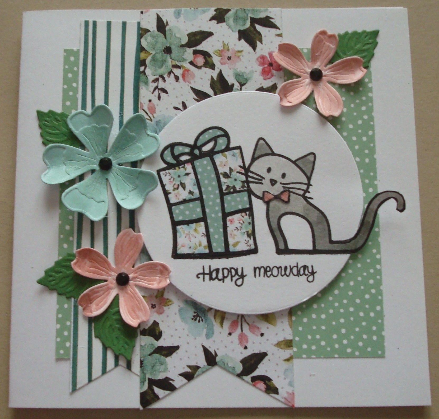 g268 simon says stamp happy meowday just cards pinterest cards