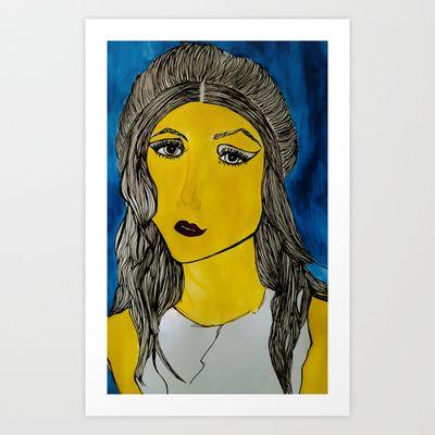 Gwenyth Art Print by ToriSimpson - $17.00