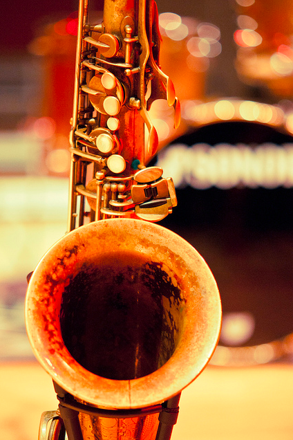 Saxophone. Nuff said.