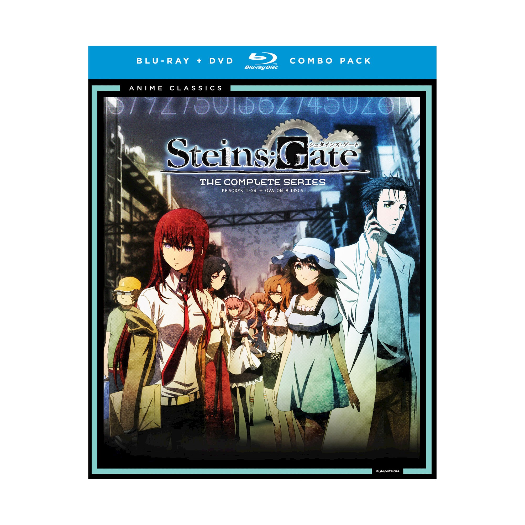 Steinsgate Complete Series Bd Dvd Co Blu Ray Steins Anime