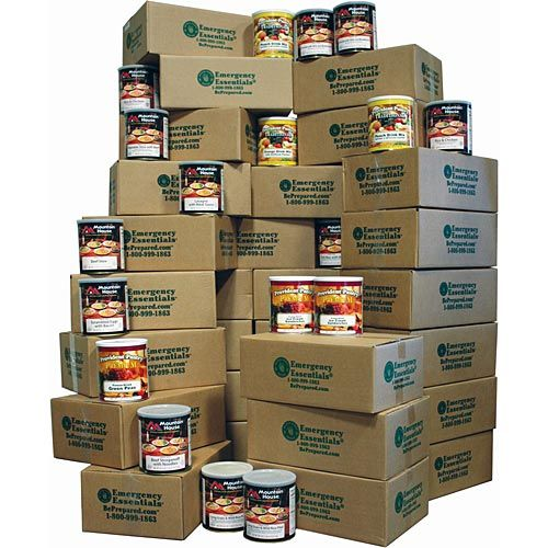 1600 Calories a Day Year Supple - Gourmet Food Storage - http://www.disasternecessities.com/product/FS%20Y812