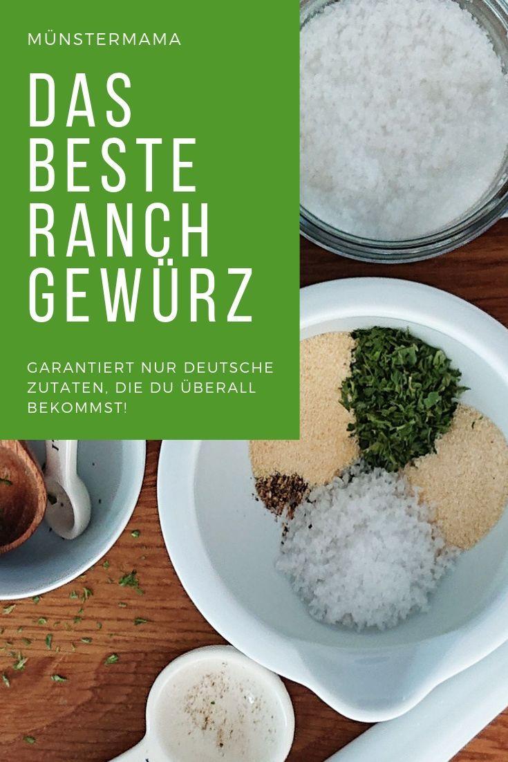 Ranch Gewürzmischung für Dips & Dressing - Family Recipes -