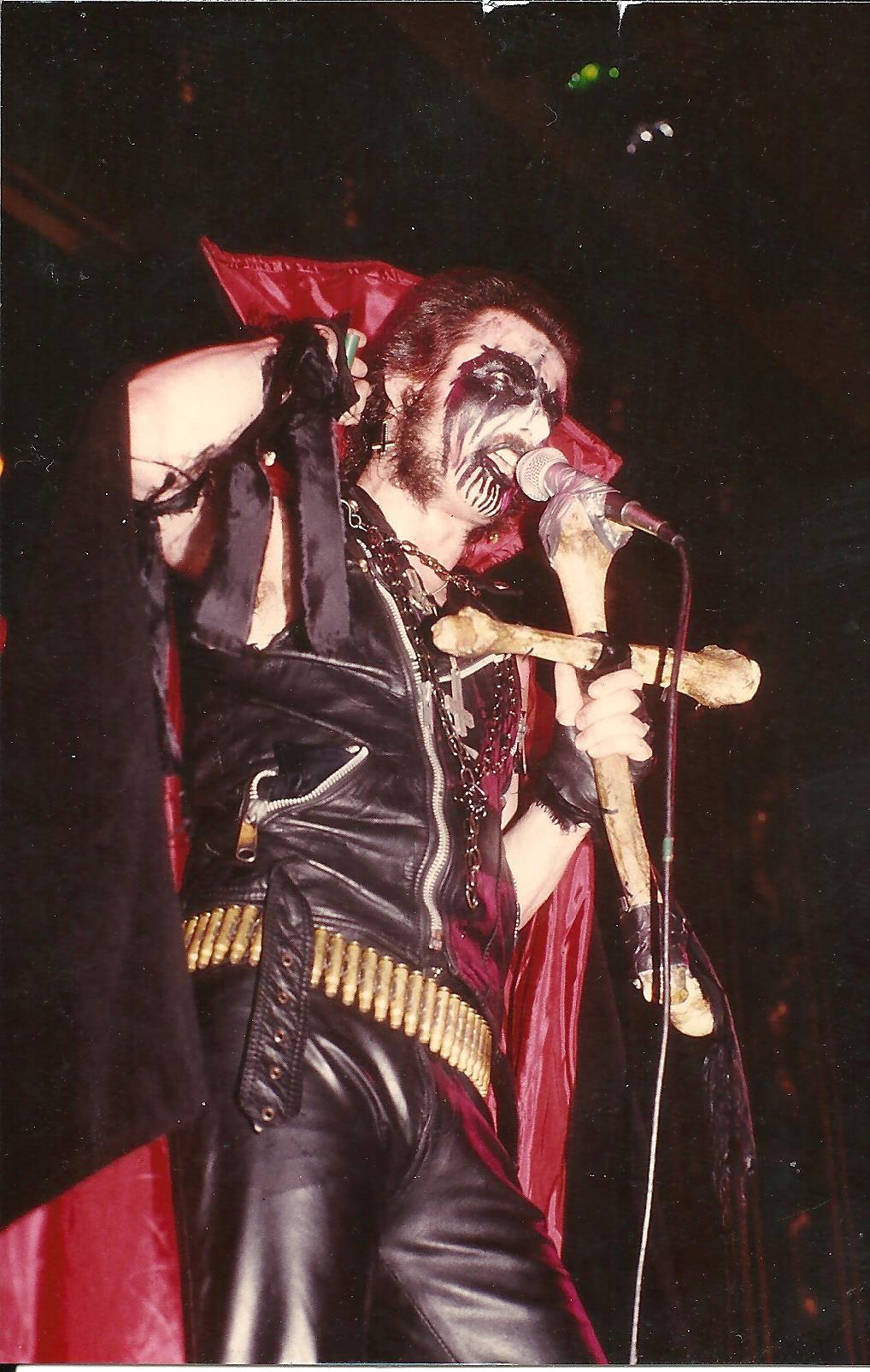 King Diamond Oh No His Makeup Is Melting King Diamond Mercyful Fate King