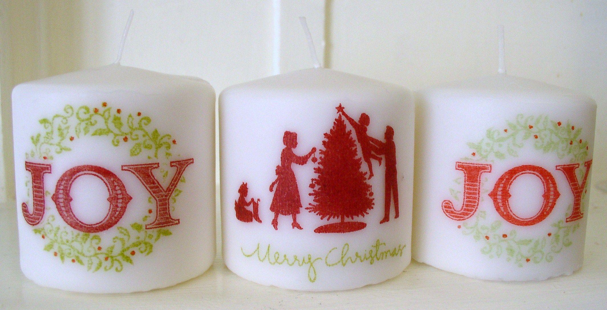 Christmas Candles - Christmas Candles
