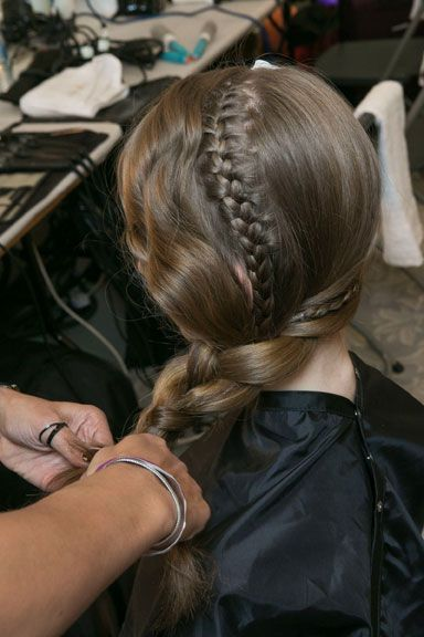 HOW-TO: Braided Styles by Malcolm Edwards at London Fashion Week