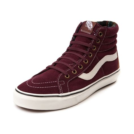 40b553320f Shop for Vans Sk8 Hi Baja Suede Skate Shoe in Maroon at Journeys Shoes. Shop
