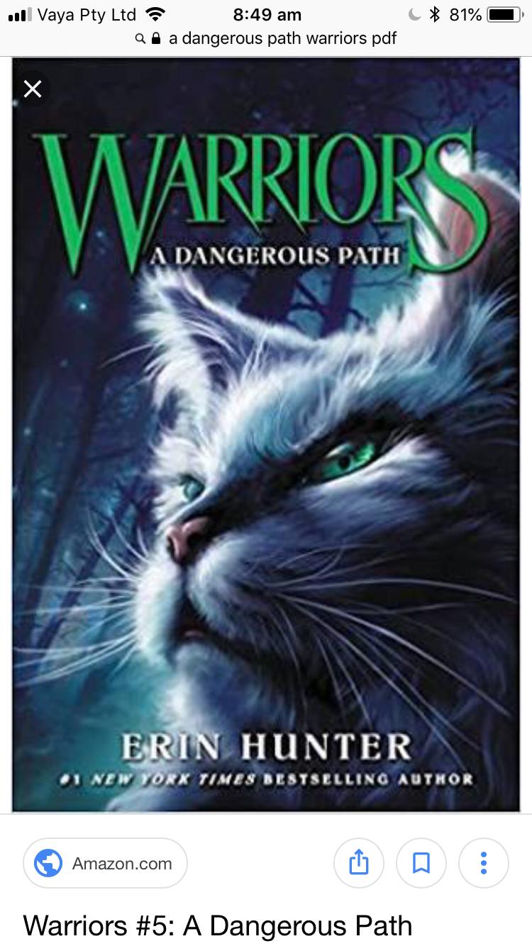 Warrior Cats Books Pdf
