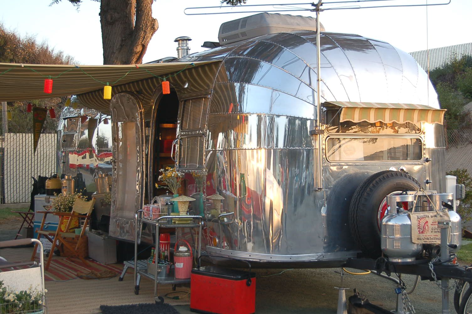 Photo Of Classic 1952 Airstream Cruiser Travel Trailer