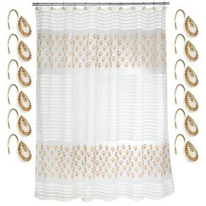 Want To Purchase Seraphina Polyester Shower Curtain Set