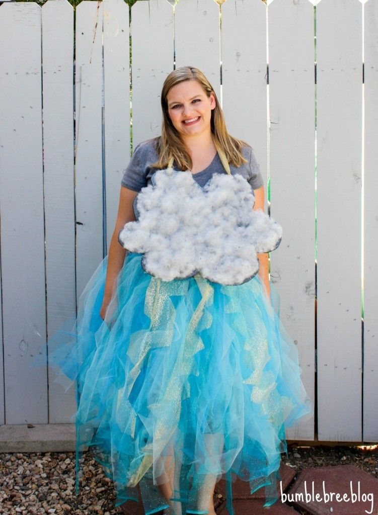 how to make a storm cloud costume