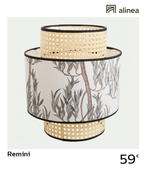 Alinea Decoration Remini Abat Jour Beige D30cm Luminaires
