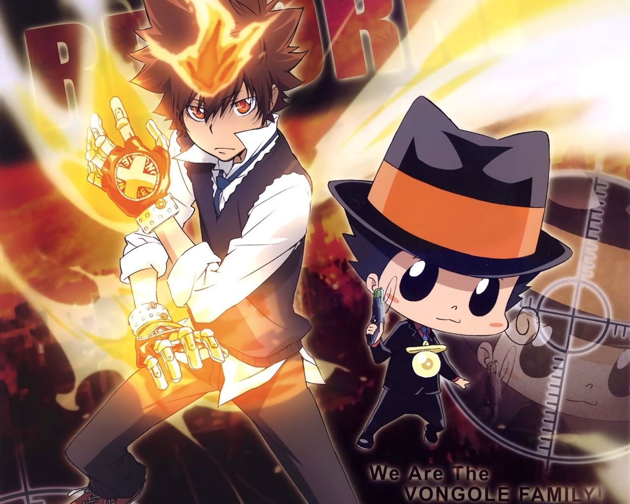 Tsuna And Reborn 家庭教師ヒットマン 家庭教師ヒットマンreborn