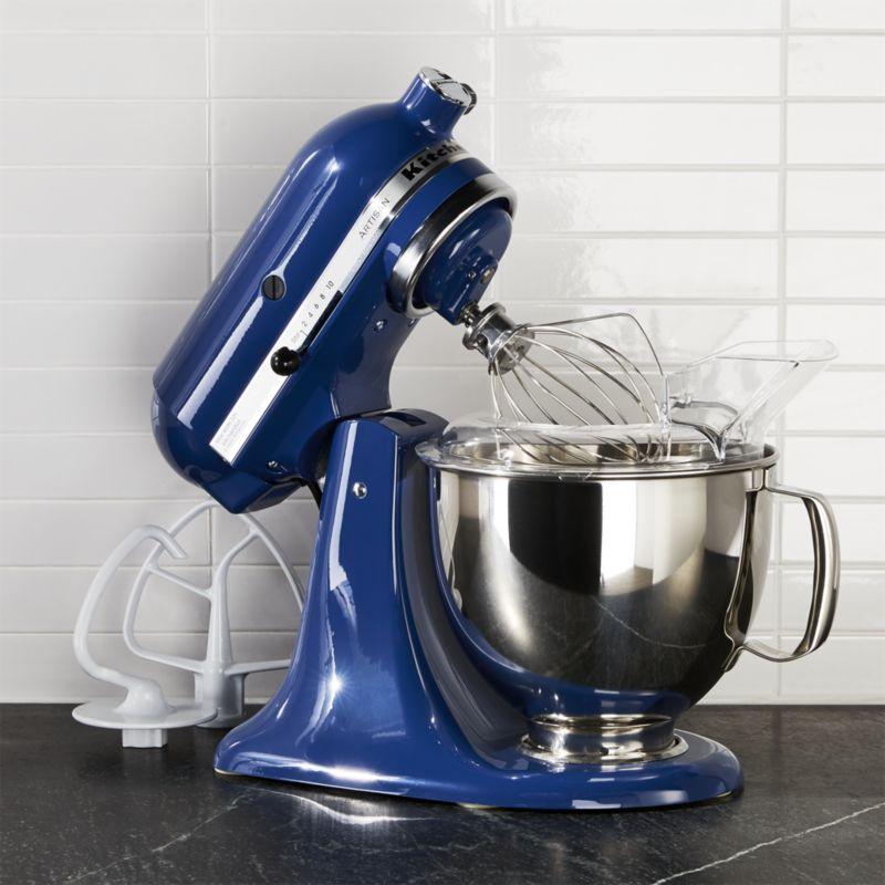 Kitchenaid Ksm150psbw Artisan Blue Willow Stand Mi Reviews Crate And Barrel Kitchenaid Artisan Kitchen Aid Kitchenaid Artisan Stand Mixer