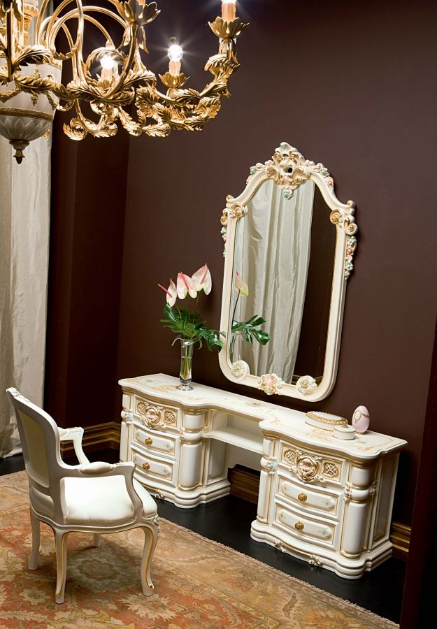Niobe Vanity by Silik Victorian bedroom, Bedroom design