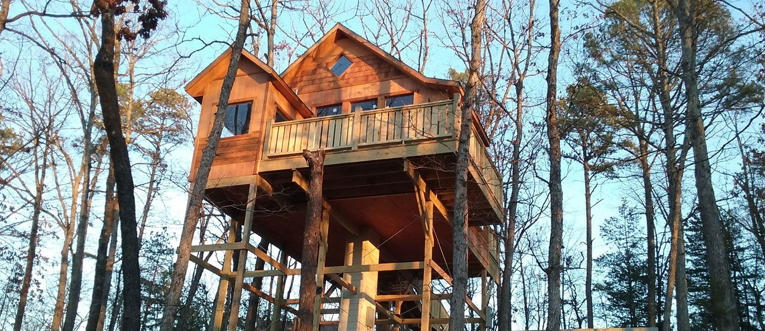 Hansel Gretel Tree House Treehouse Cottages Treehouse Cabins