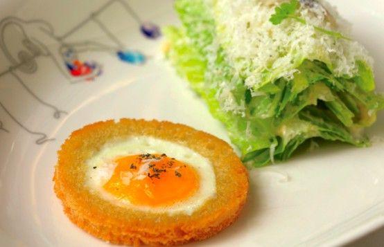 The Caesar salad at Le Cirque #Restaurant, NY #Mashpotato