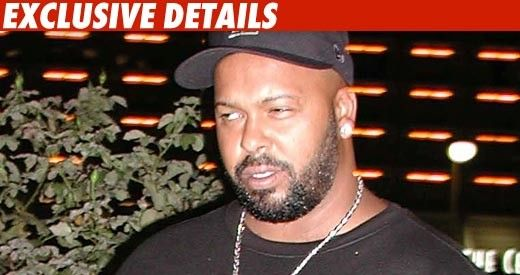 Suge Knight: Pulled over by LA cops with guns drawn