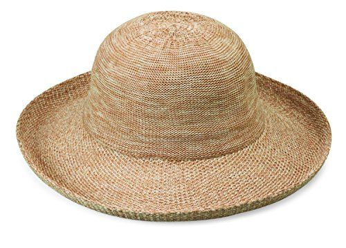 82cb62338297a wallaroo Women s Victoria Sun Hat - Lightweight and Packable Straw ...