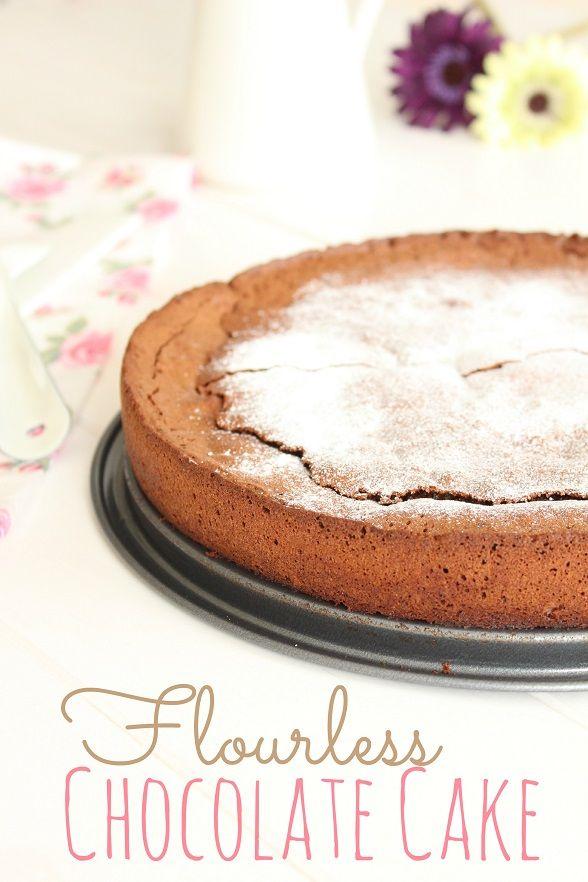Raquel's Kitchen: Tarta de Chocolate sin harina