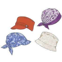 Nice Hat Pattern Possibly A Good Chemo Hat Quilts Hats