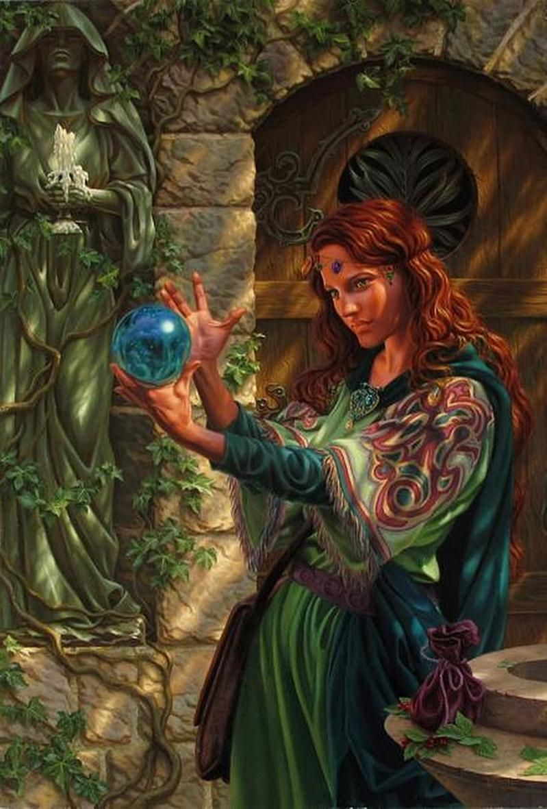Garden Of The Enchantress By Raoul Vitale Featured