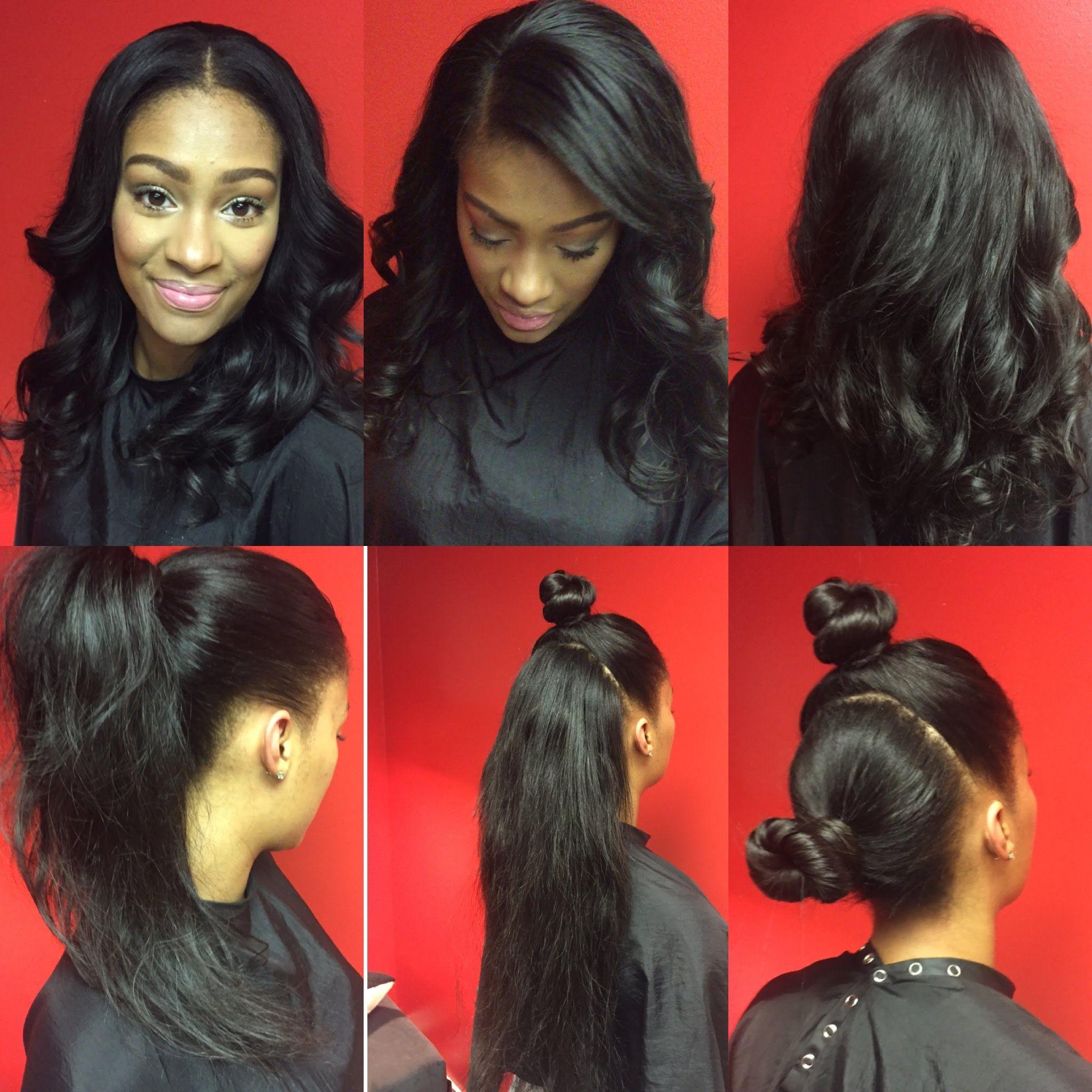 Flip Method / Two Part Vixen / Versatile Sew-In Weave | Hairstyles ...