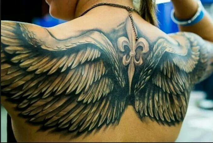 Fleur Di Lis Wings Con Immagini Tatuaggi Braccio Tatuaggi