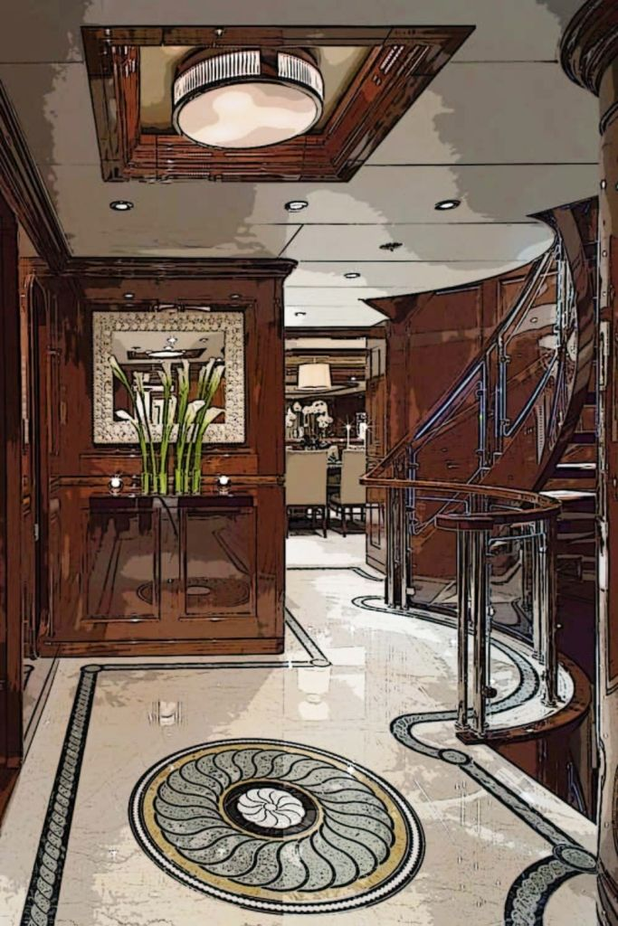 Luxury Foyer Decorating And Design Ideas (24)