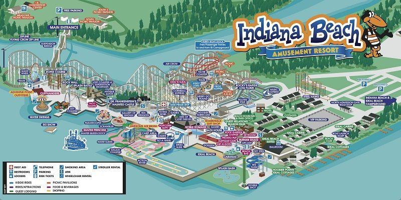 Indiana Beach Boardwalk Resort The Best Beaches In World