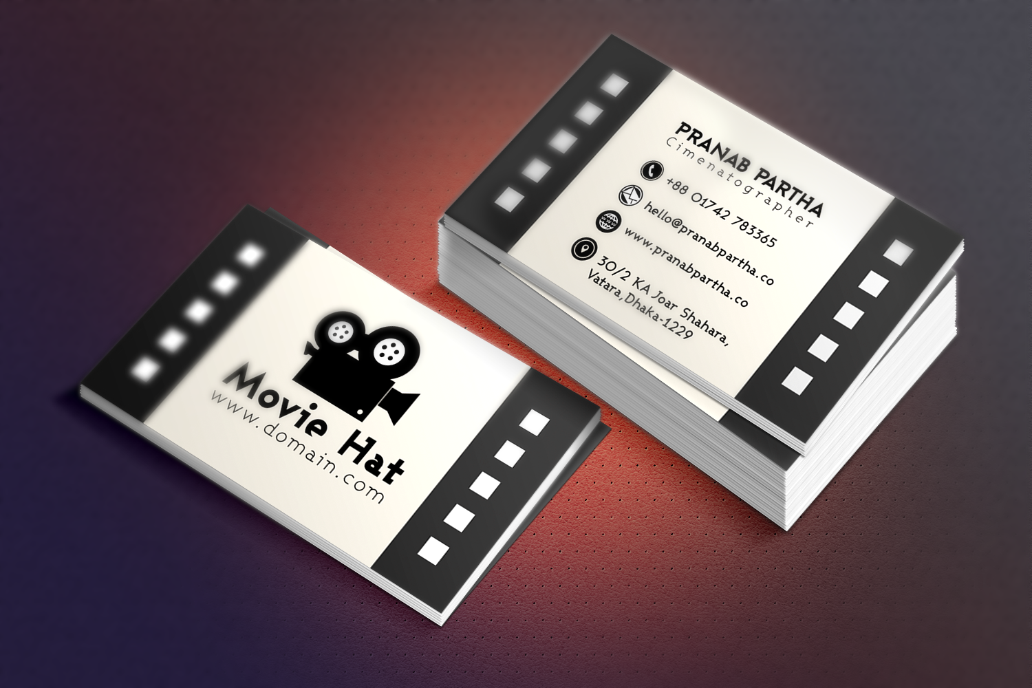 Check out my behance project business card for movie httpswww check out my behance project business card for movie https colourmoves