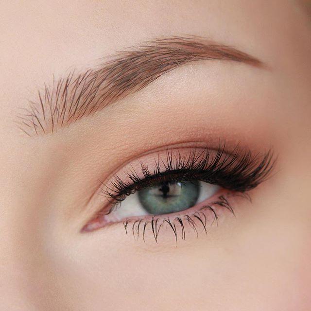 weiches Augen Make-up