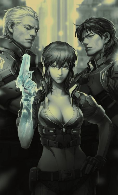 ghost in a shell anime imdb