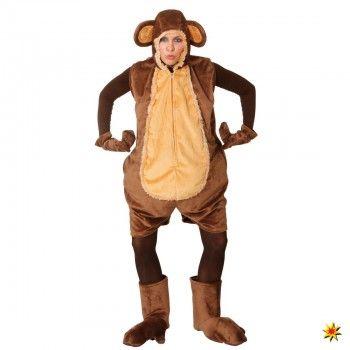 Affenkostum Kurzer Overall Affe Affe Kostum Overall Kurz Und