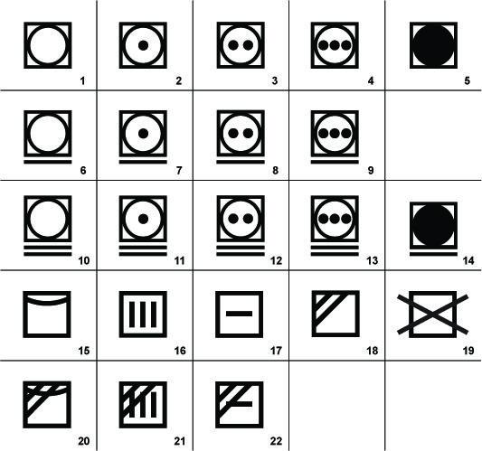 Download Washing Symbols For Clothing Labels Hang Tags