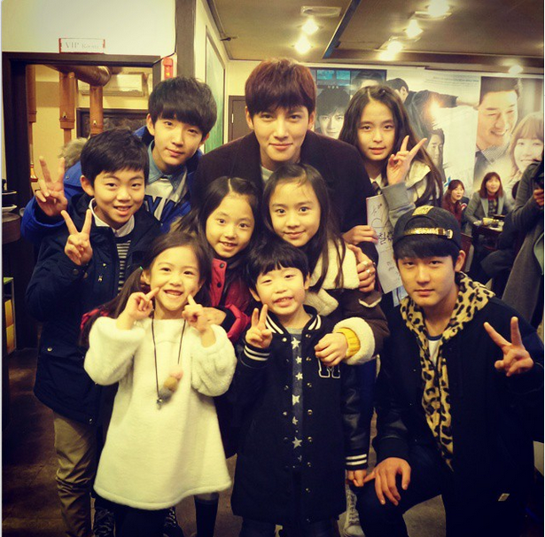 Healer after party (JCW and the kid cast of Healer) | Ji
