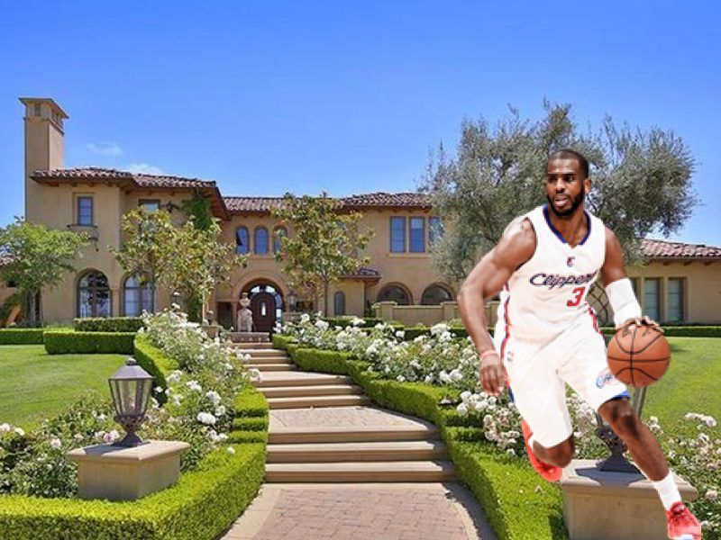 Nba Homes Chris Paul S House In Calabasas Pictures Basketball