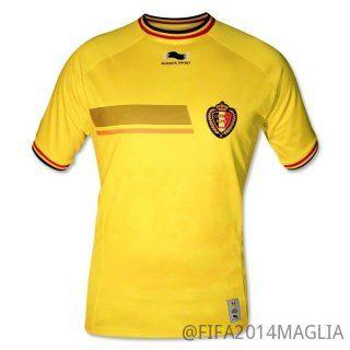 maglia di belgio 2014-2015 terza